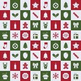 Christmas pattern Stock Photo
