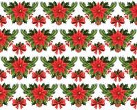 Christmas pattern. Royalty Free Stock Image