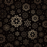 Christmas pattern snowflake background Stock Images