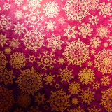 Christmas pattern snowflake background. EPS 10 Stock Photos