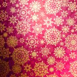Christmas pattern snowflake background. EPS 8 royalty free stock images