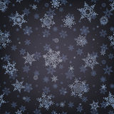Christmas pattern snowflake background. EPS 10 Royalty Free Stock Photography