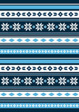 Christmas Pattern with Snowflakes. An EPS file is also available.Christmas Pattern Stock Image