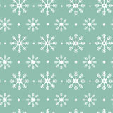 Christmas pattern with snowflakes. Stock Photography