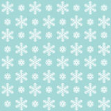 Christmas pattern - snowflakes Stock Images