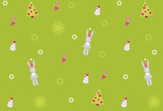 Christmas pattern. Vector Royalty Free Stock Photography