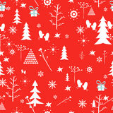 Christmas pattern. Vector Stock Photography