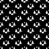 Christmas pattern. (vector eps 10 Stock Photo