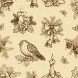Christmas pattern stock illustration