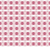 Christmas Pattern With Snow Flakes On Pink Background Stock Image