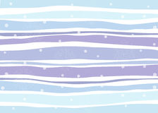 Free Christmas Pattern With Snowflakes In Blue And Violet Stock Images - 46571424