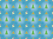 Christmas pattern with Xmas symbols Royalty Free Stock Images