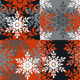 Christmas patterns Royalty Free Stock Photos