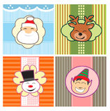 Christmas patterns Stock Photo
