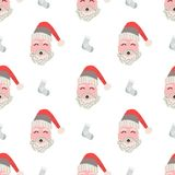 Christmas patterns in Scandinavian style for your designs, prints and decoration Royalty Free Stock Images