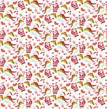 Christmas patterns seamless backgrounds. S Stock Photos