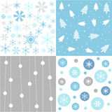 Christmas patterns Royalty Free Stock Photo