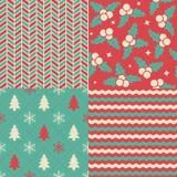 Christmas Patterns Royalty Free Stock Image