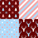 Christmas Patterns Stock Photography