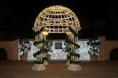 Christmas Pavilion Stock Photos