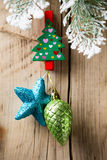 Christmas peg. Stock Images
