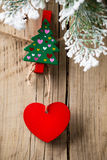 Christmas peg. Stock Image