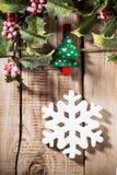 Christmas peg. Royalty Free Stock Images