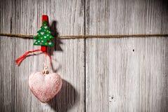 Christmas peg. Stock Photo