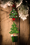 Christmas peg. Royalty Free Stock Photography