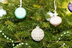 Christmas pendants Royalty Free Stock Photo