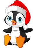Christmas penguin Royalty Free Stock Photos