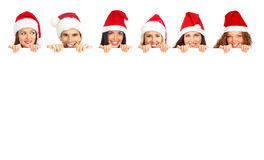 Christmas people Stock Photo
