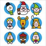 Christmas people Stock Photos