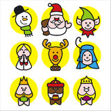 Christmas people Royalty Free Stock Photography