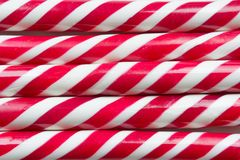 Free Christmas Peppermint Candy Cane Close Up. Stock Photo - 99869080