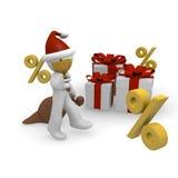 Christmas percent Stock Photos