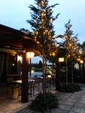 Christmas in Peschiera del Garda royalty free stock images