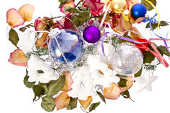 Christmas petals Royalty Free Stock Photo
