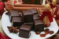 Christmas petits fours  Stock Image