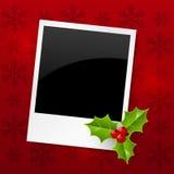 Christmas photo card Royalty Free Stock Photos