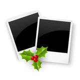 Christmas photo cards Royalty Free Stock Image