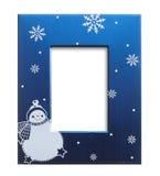 Christmas photo frame Stock Photo