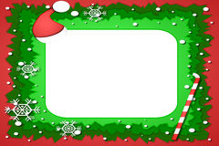 Christmas photo Frame Royalty Free Stock Photo