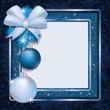 Christmas photo frame scrapbooking. Vector vector illustration