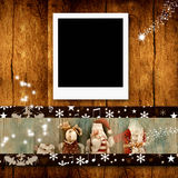 Christmas photo frames Stock Photo