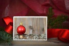 Christmas photo Royalty Free Stock Photos