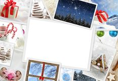 Christmas photos with copy space Stock Photo