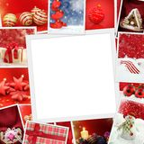 Christmas photos with copy space Royalty Free Stock Photo