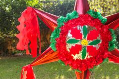 Christmas Piñata Stock Images