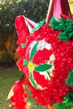 Christmas Piñata Royalty Free Stock Photography